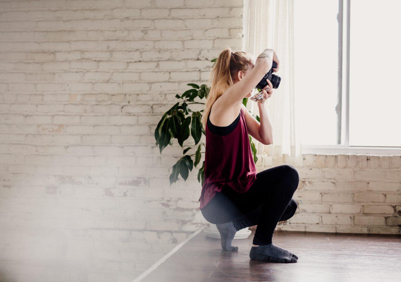 Brianna Lane Boudoir in action behind the scenes